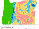 Oregon Climate Map Climate Of oregon Revolvy