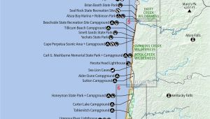 Oregon Coast Map Pdf northern California southern oregon Map Reference 10 Beautiful