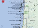 Oregon Coast Trail Map oregon Coast Map Pdf Secretmuseum