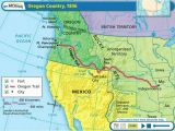 Oregon Country Map 1846 Map Of the oregon Country and Travel Information Download Free Map