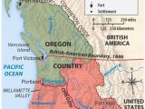 Oregon Country Map 1846 oregon Treaty 1846 A origins Of the Ideology Of Manifest Destiny