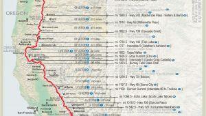 Oregon Hiking Map Pin by Matthew Paulson On Pacific Crest Trail Thru Hiking Hiking