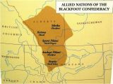 Oregon Indian Tribes Map Blackfoot Confederacy sometimes Referred to as the Blackfoot