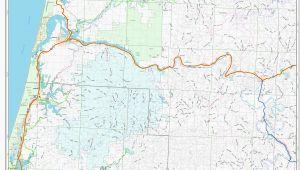 Oregon Maps Online Map Of Coos Bay oregon Secretmuseum