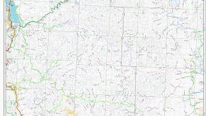 Oregon National forest Map oregon forest Service Road Maps Secretmuseum