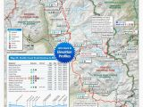 Oregon Pct Map Pacific Crest Trail Map southern California Secretmuseum