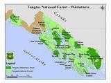 Oregon Rainforest Map tongass National forest Wikipedia