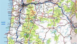 Oregon Road Map Pdf oregon Road Map