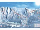 Oregon Ski Resorts Map La Clusaz Piste Map Trail Map