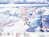 Oregon Ski Resorts Map Mount Jahorina Trail Map Onthesnow
