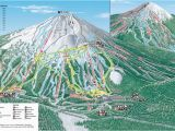 Oregon Ski Resorts Map Mt Bachelor Mt Bachelor oregon Skiing Ski Magazine Trail Maps