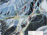 Oregon Ski Resorts Map Trail Map Sundance Resort Trail Maps Trail Maps Country Maps Map