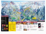 Oregon Ski Resorts Map Whistler Blackcomb Trail Map Onthesnow