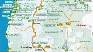 Oregon State Parks Camping Map Map Of oregon Coast State Parks Secretmuseum