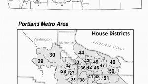 Oregon State Representative Districts Map oregon Secretary Of State Senate Representative District Maps