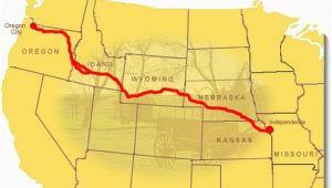 Oregon Trail Interactive Map Maps oregon National Historic Trail U S National Park Service