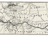 Oregon Trail Map for Kids Map Of the oregon Trail by Ezra Meeker the Hop King Of the World