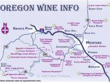 Oregon Wine Country Map Map Of oregon Wine Country Secretmuseum