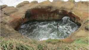 Otter Rock oregon Map Devil S Punch Bowl Otter Rock or Picture Of Devils Punchbowl