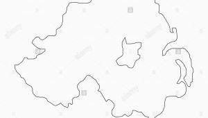 Outline Map Of northern Ireland Ireland Map Stock Photos Ireland Map Stock Images Alamy