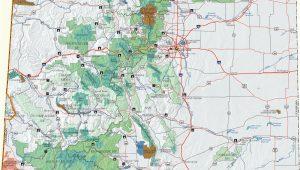 Palmer Divide Colorado Map Colorado Dispersed Camping Information Map