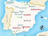 Paradors northern Spain Map Spain Travel Guide by Rick Steves