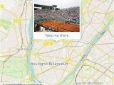Paris France Google Map Wie Komme Ich Zu Court Suzanne Lenglen In Paris Mit Dem Bus Der