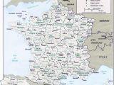 Paris France Zip Code Map Map Of France Departments France Map with Departments and Regions