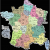 Paris France Zip Code Map Map Of France Departments France Map with Departments and Regions