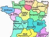 Paris France Zip Code Map the Regions Of France