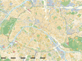 Paris On A Map Of France Maps Of Paris Wikimedia Commons