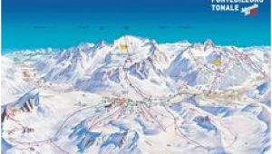 Passo tonale Italy Piste Map 36 Best Piste Maps 16 17 Images Blue Prints Cards Map
