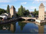 Petite France Strasbourg Map Blick Auf Petite France Picture Of Barrage Vauban Strasbourg