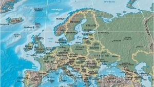 Physical Map Of Europe for Kids File Physical Map Of Europe Jpg Wikimedia Commons