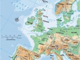 Physical Map Of Europe Mountains 54 Unerring Physical Map Europe Peninsulas