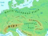 Physical Map Of Europe Mountains Eastern Europe Mountains Map Lgq Me