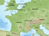 Physical Map Of Europe Mountains Europe Blank Physical Map Lgq Me