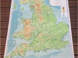 Physical Map Of Ireland England and Wales Physical Map Philips by Wafflesandsprout