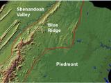 Physical Map Of Ireland Mountains Mountains Of Virginia