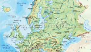 Physical Map Of northern Europe 36 Intelligible Blank Map Of Europe and Mediterranean