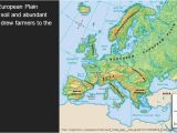 Physical Map Of northern Europe Physical Geography Of northwestern Europe northern European
