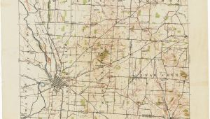 Pickaway County Ohio Map Ohio Historical topographic Maps Perry Castaa Eda Map Collection