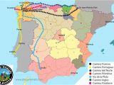 Pilgrimage Spain Camino De Santiago Map the Camino De Santiago All You Need to Know Stingy Nomads