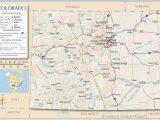 Pine Colorado Map 34 Colorado Highway Map Maps Directions