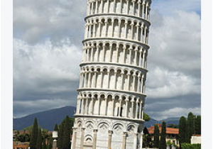 Pisa tower Italy Map Climate Change Endangers Dozens Of World Heritage Sites Leaning