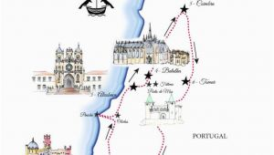 Plan Europe Trip Map Portugal Road Trip Map A Road Trip Itinerary Around Lisbon