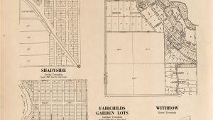 Plat Maps Minnesota Plat Book Of Washington County Minnesota Showing township Plats