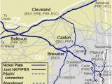 Plat Maps Ohio Nkp Nickel Plate Road Appalachian Railroad Modeling
