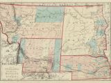 Platte River Colorado Map Map Of Nebraska Dakota Montana and Wyoming H H Hardesty Co