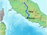 Po River Italy Map Tiber Wikipedia